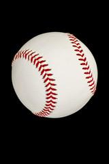 野球ボール 黒背景
