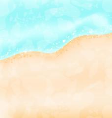 Holiday background - beach, sea, sand