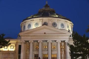 Bucharest night - the Atheneum