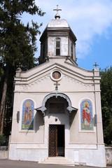 Bucharest landmark - church of Presentation of Virgin Mary