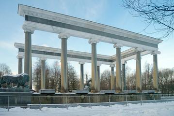 Lion cascade in Peterhof, Russia