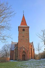 Dorfkirche in Gielow (14. Jh., Mecklenburg-Vorpommern)