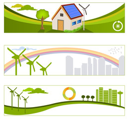 renewable green energy backgrounds