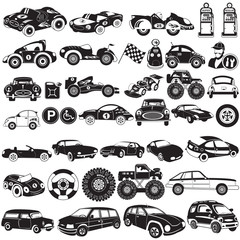 car black icons