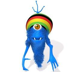 Monster Rastafarian