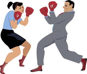 Gender competition