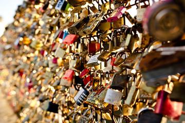 amour cadenas pont des arts