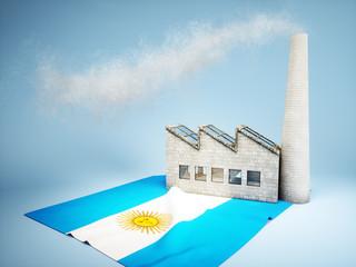 Argentinian industry development concept
