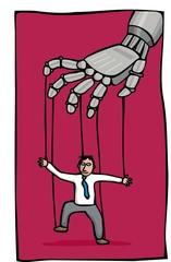 robot hand puppet