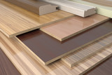 Furniture profiles and chipboards.