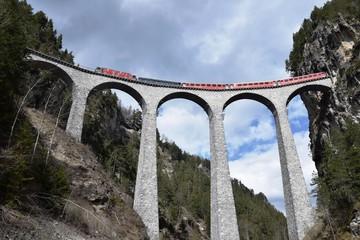 Landwasserviadukt - Schweiz - UNESCO Weltkulturerbe