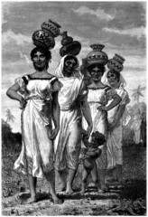 Traditional South American Women