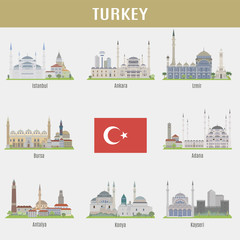 Cities of Turkey