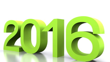 3D animated video - comes the new year 2016