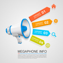 Megaphone info