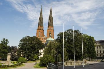 Swedish town view