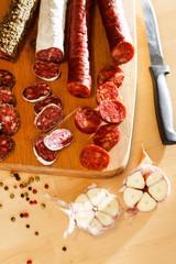 spanish sausages