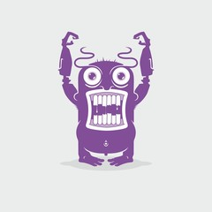 Monster / Vector illustration