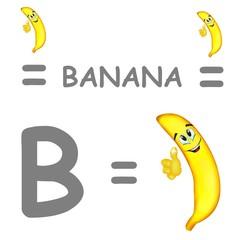 b banana