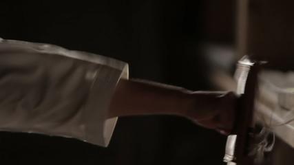 master of traditional karate training impacts on the makiwara