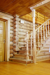 The image of wooden staircase