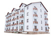 Leinwandbild Motiv Beautiful comfortable hotel, cottage for tourists