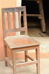 Chair at the door-T.T.Yangtse. Namo Buddha-Nepal. 1016