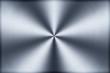 canvas print picture - Kreisförmig gebürstetes Aluminium