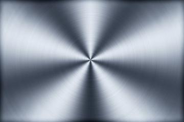 Kreisförmig gebürstetes Aluminium