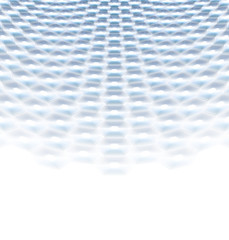 Abstract perspective background with hexagonal shapes.