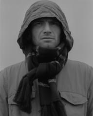 Pensive guy portrait