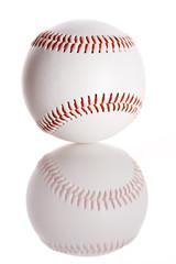 Baseball: Baseball with Reflection