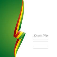 Bolivia left side brochure vector