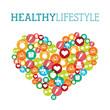 healthy lifestyle - 77572071
