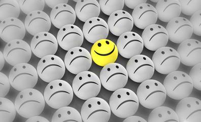 Glücklich in der Masse