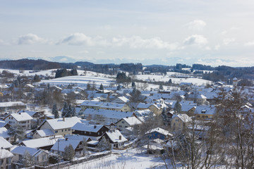 Blick über Erlau-Andechs
