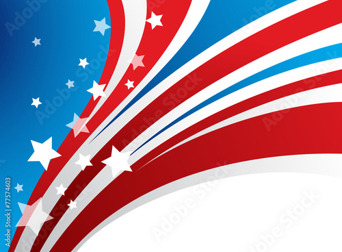 Presidents Day Vector Background - 77574603