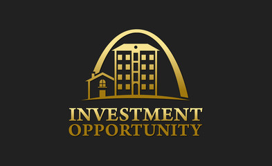 Investment Opportunity Real Estate Logo