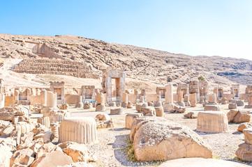 Persepolis in northeast Shiraz, Iran