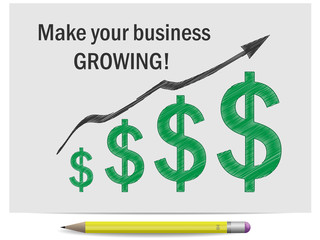 Sketch make your business growing