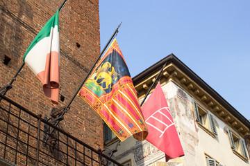 Flag of region of Veneto