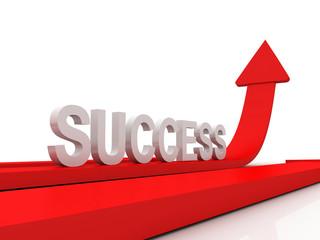 Success Arrows 3D
