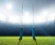 Rugby Stadium And Posts - 77592442
