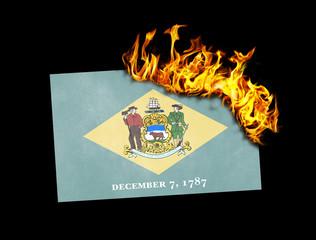 Flag burning - Delaware