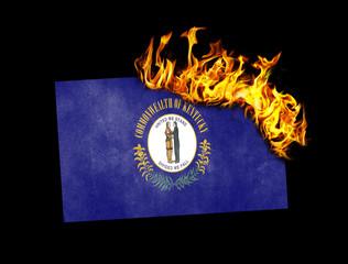 Flag burning - Kentucky