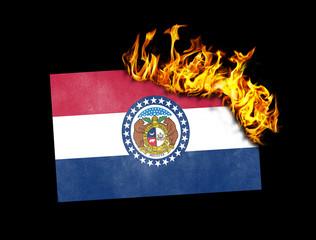 Flag burning - Missouri