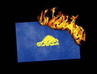 Flag burning - Oregon