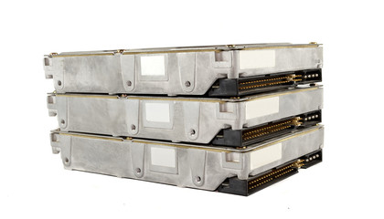 Rack hard drives