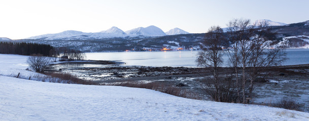 Norway in winter - trip to the island Senja
