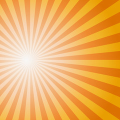 Sun Sunburst Pattern. Vector illustration